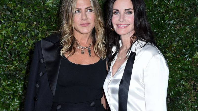 Corona-Quarantäne: «Friends»-Star Courteney Cox schaut sich «Friends» an